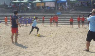 ビーチサッカー4